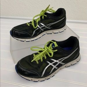 Asics Shoes - Asics Gel Flash Black Neon Athletic Shoes Sz 7 SH2
